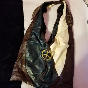 Boho Peace Sign Steve Madden Purse
